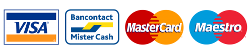 Betaal snel en veilig met de kaart in Melkerij Nachtegalenpark - Bancontact - Maestro - Mastercard - Visa