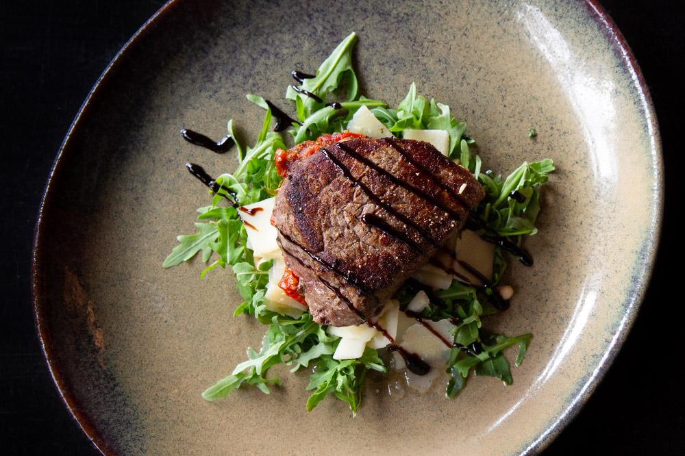 Nachtegalenpark - restaurant - filetpur met seizoensgroentjes