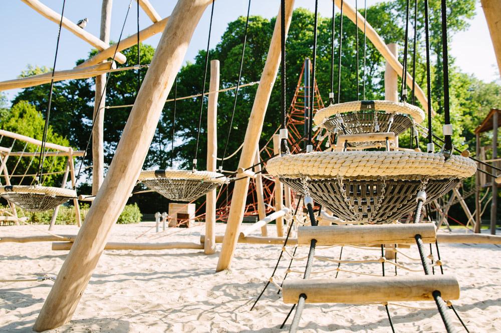 Nachtegalenpark speeltuin adventure - Openluchtspeeltuinen in Antwerpen die de moeite waard zijn